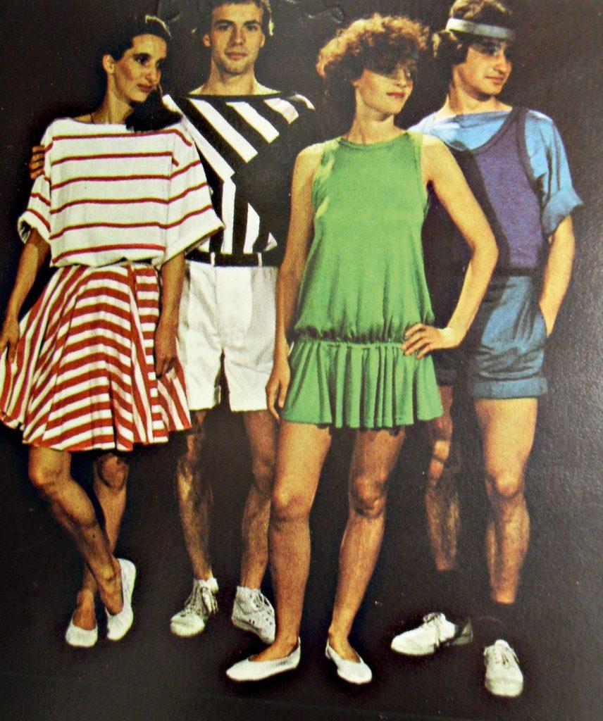 Das mondäne SEZ zur Popgymnastik | Quelle: Zeitschrift Die Mode