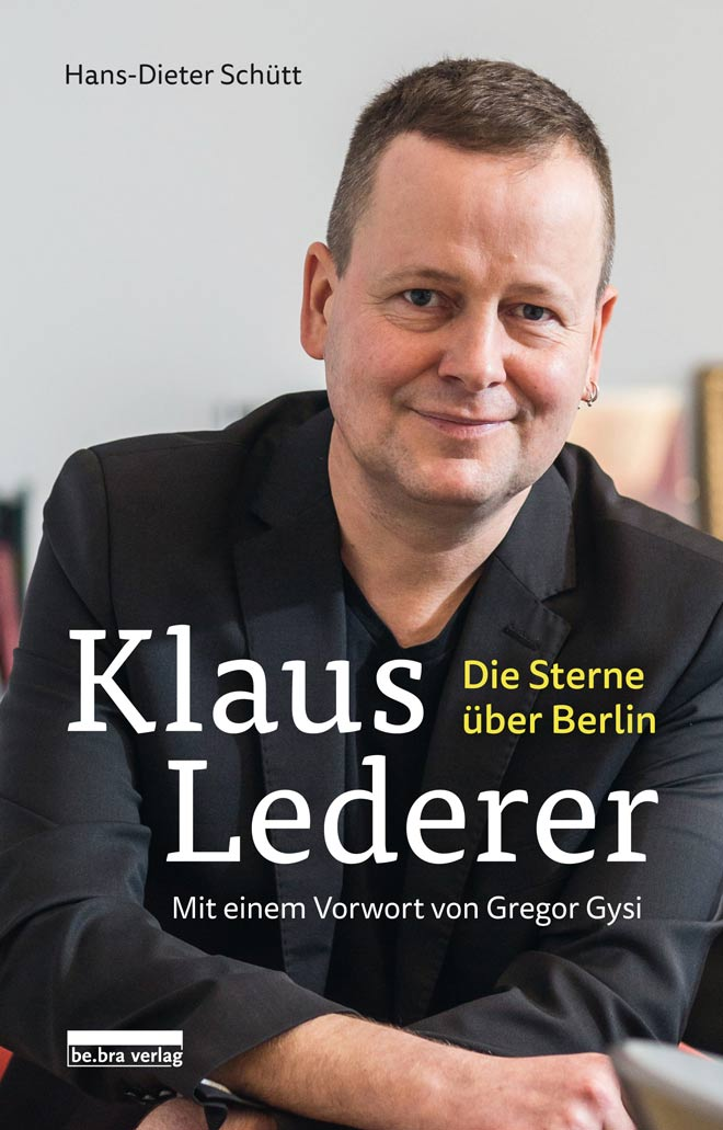Klaus Lederer, Buchcover. Foto: be.bra Verlag