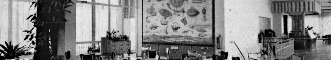 Restaurant im Haus des Kindes | Quelle: Zeitschrift Deutsche Architektur