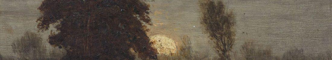 Landschaft von dem Maler Paul Riess| Aufnahme: Patrick Hertel.