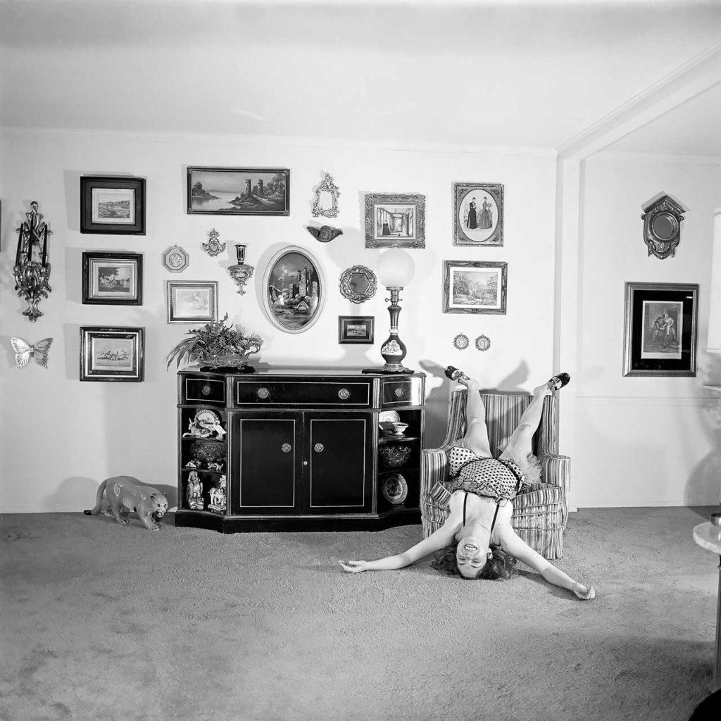 Meryl Meisler, Self-Portrait A Falling Star North Massapequa, NY January 1975