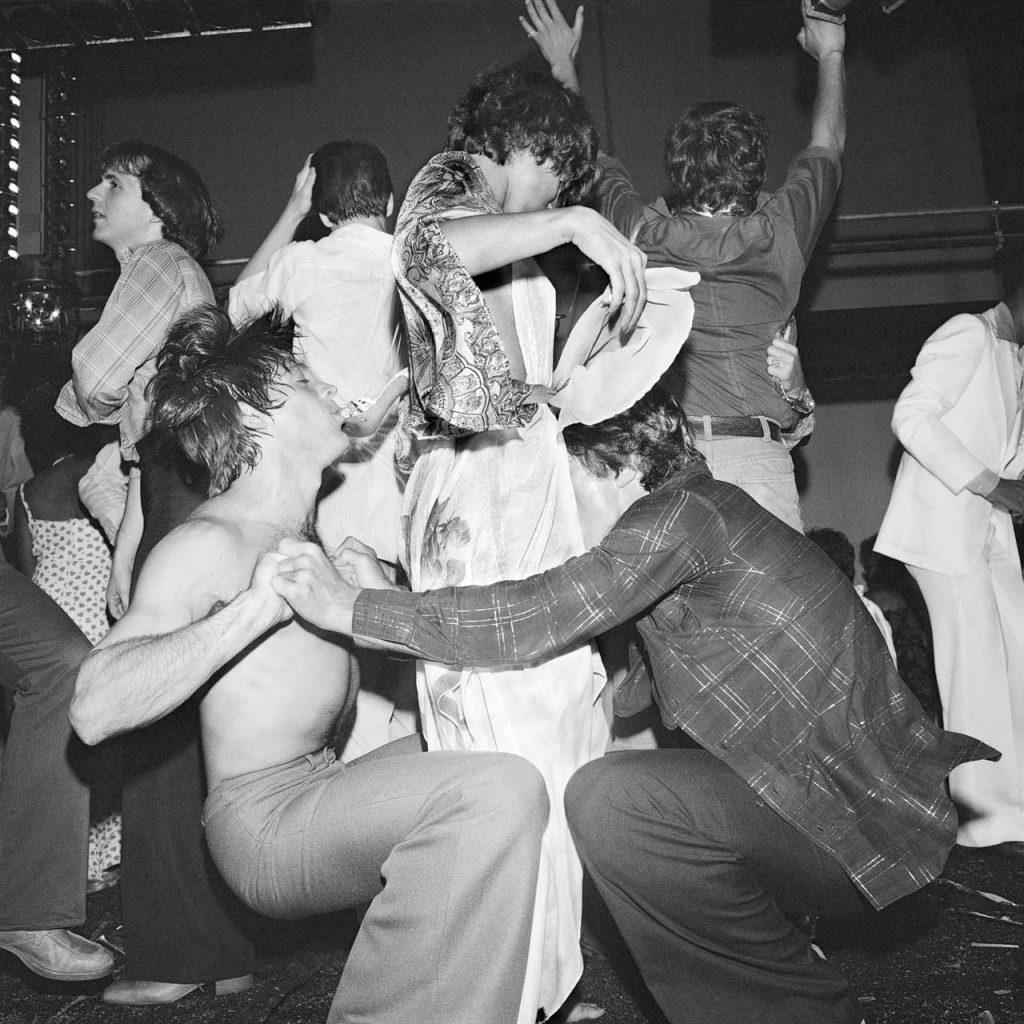 Meryl Meisler, Dance Trio (With Judi Jupiter) Studio 54, NY, NY July 1977